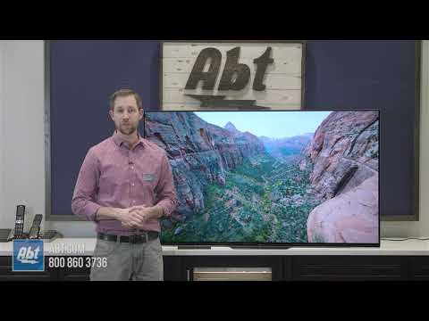 Overview: 2018 Sony A8F OLED TV - XBR65A8F
