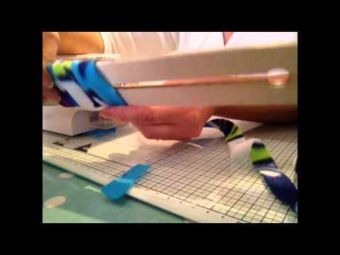 Rag Rug Strip Cutting