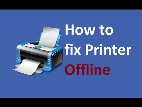 Printer Offline Windows 10 / 8! Fix - Howtosolveit