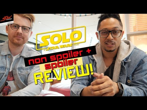 SOLO A STAR WARS STORY NON SPOILER + SPOILER REVIEW! -  Han Solo Movie