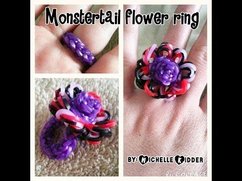 Monstertail Flower ring