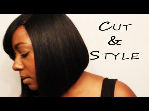 Live Hair! Bob Cut & Style (How to Cut a Bob EASY)