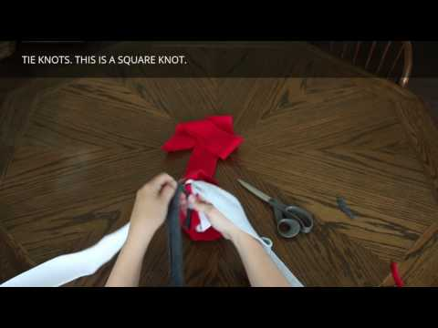 How to Make a Fleece Rope Dog Toy