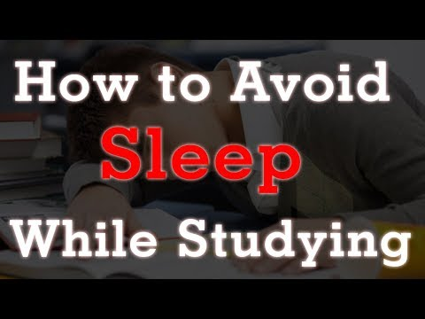 How to Avoid Sleep while studying........