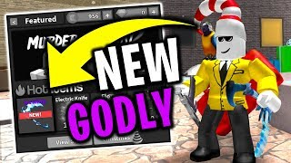 Going For The Godly Bone Blade Roblox Murder Mystery 2