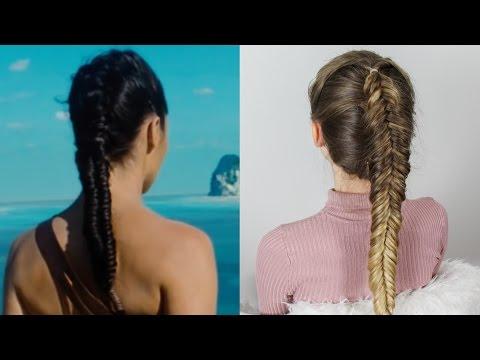 WONDER WOMAN Inspired Hair - Dutch Fishtail Braid
