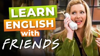 English Phone Conversation | How to Have A Fluent Conversation with FRIENDS