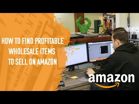 HOW I FIND PROFITABLE WHOLESALE ITEMS TO SELL ON AMAZON IN 2018 - **MY FULL PROCESS INSIDE**