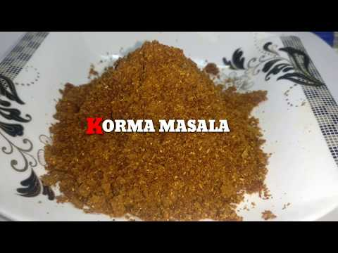 Homemade Korma Masala Powder | Easy Cooking Tips