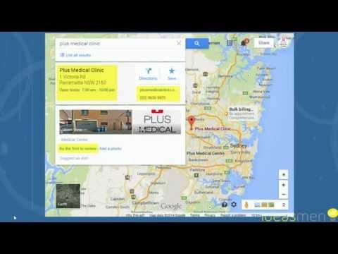 Setup a Google+ Business Page and get listed on Google Maps