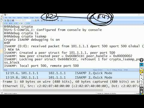 Configuring Site to Site VPN on ROUTER  and ASA ( VPN Day 3)