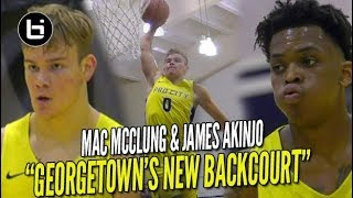 Mac McClung CRAZY Windmill In FIRST College Game!! LIT Backcourt Debut w/ James Akinjo!!