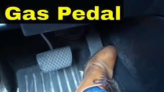 Gas Pedal Control-COMPLETE Driving Tutorial