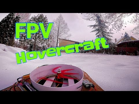How to make a FPV RC Hovercraft