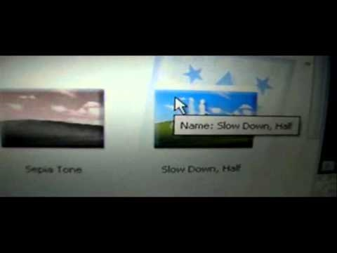 How to put slow motion effect onto video from windows movie maker