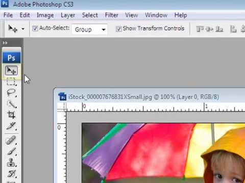 How to move layers with transparency in Photoshop and PSE