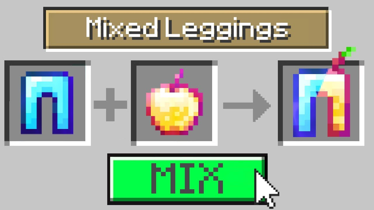 Minecraft, But You Can Mix Any Item...