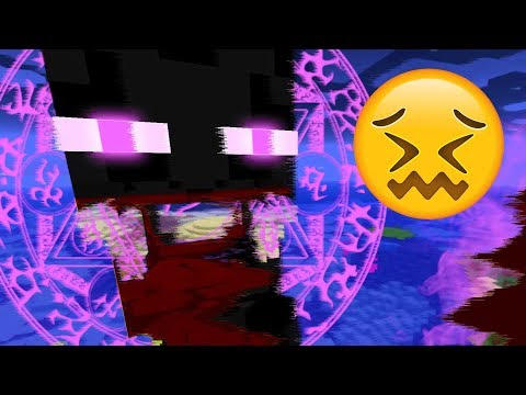 I found out what Enderman are screaming in Minecraft! (SUPER SCARY)