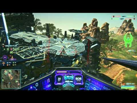 Planetside 2 : Basic Flight Tutorial and Air Combat Techniques