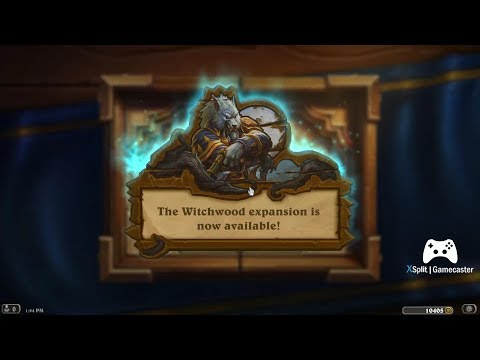 Hearthstone The Witchwood 74 Packs opened! Lots of Legendaries!!! Nice!