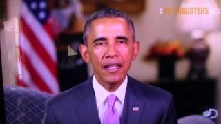 President Obama Says Goodbye to the MythBusters