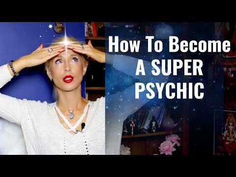 How To Develop PSYCHIC POWERS/Your #1 PSYCHIC Sense