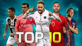 Top 10 Skillful Players in Football 2018 (HD)