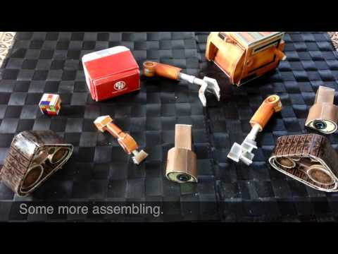 How To Make A Model Wall-E Robot