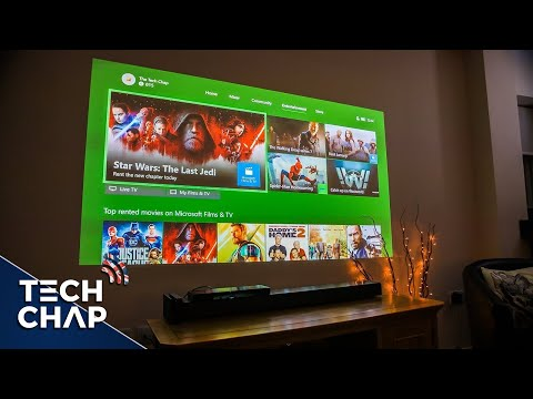 Can a Gaming Projector replace my TV? | The Tech Chap