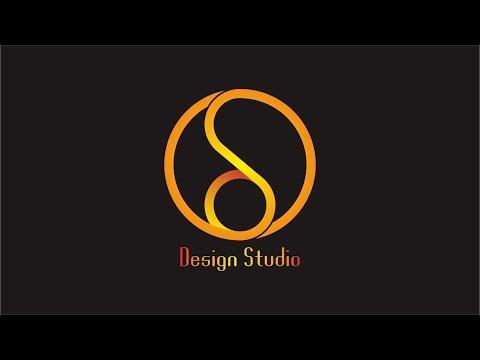 D-Studio Logo Design | CorelDraw Tutorial