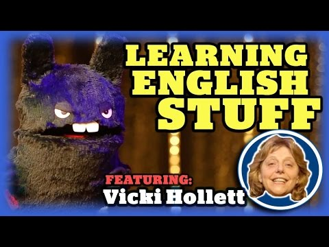 Learning English with Puppets - Featuring Vicki Hollett (Simple English Videos)