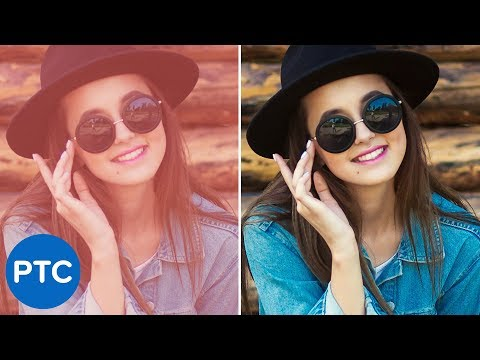 Easy ONE-CLICK Color Correction in Photoshop | Quickest Way To White Balance a Photo