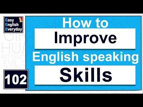 How to improve English speaking skills at home| Free English Speaking tips |English grammar tutorial