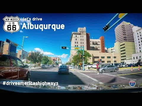 Historic Route 66 - Central Ave - Albuqurque - New Mexico | Drive America's Highways 🚙
