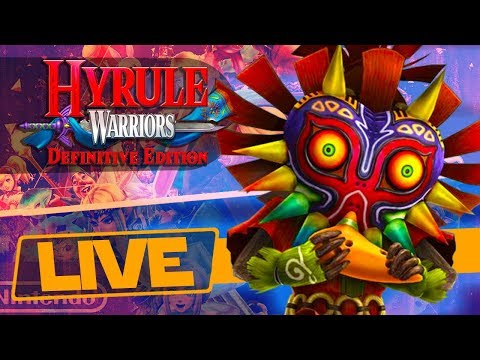 Unlock a Fairy and Skull Kid! - Hyrule Warriors Definitive Edition Switch