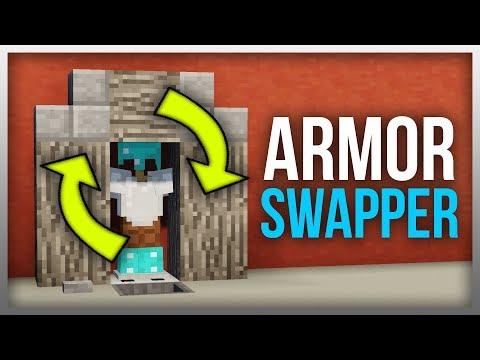 ✔️ Minecraft 1.12: Redstone Tutorial - Armour Swapper v3