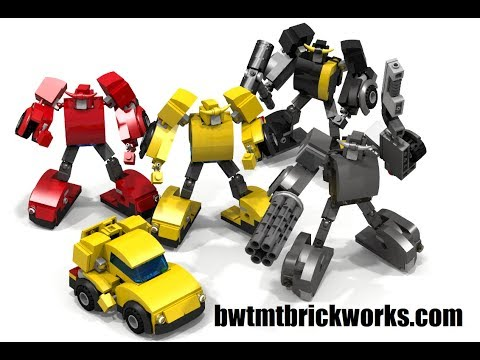 9 Years of Lego Transformers Bumblebee by BWTMT Brickworks