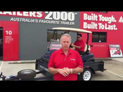 Golf Buggy Trailers by Trailers 2000