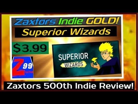 Zaxtors 500th Indie Game Review! - Zaxtors Indie GOLD! - Superior Wizards - A Rare RPG Gem!