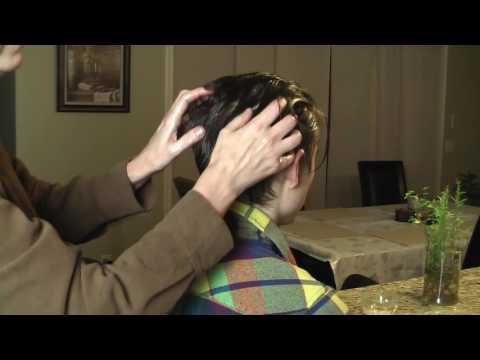 Scalp massage to stimulate hair