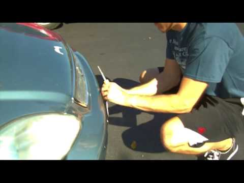 How to Fix a Warped License Plate