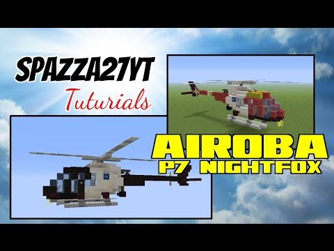 Police Helicopter (Airoba P7 nightfox) tutorial