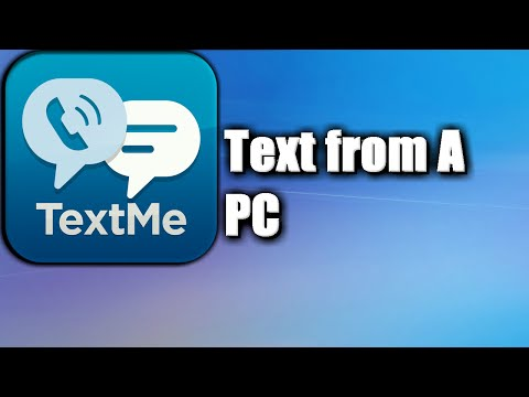 How to text from a Computer