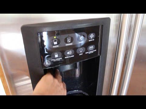 Fix Your GE In Door Water and Ice Dispenser