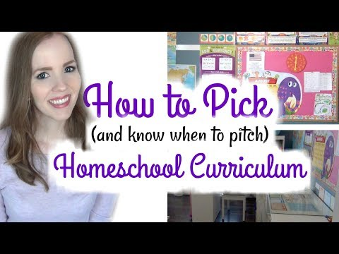 HOW TO PICK (& Know When to Pitch) HOMESCHOOL CURRICULUM | HOW TO HOMESCHOOL