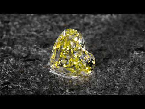Yellow Diamond Heart 2.02 carat