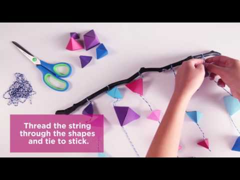 How-to: Origami Hangers
