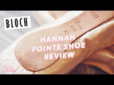 Bloch Hannah Pointe Shoe Review  •  Kisarhi En Pointe
