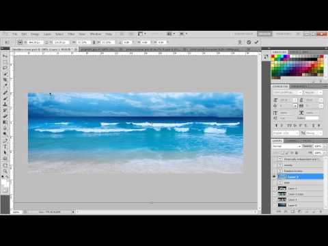 How To make Facebook Cover Timeline with Photoshop (เฟซบุ๊ค ไทม์ไลน์)