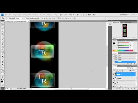 Photoshop CS4: Making Your Own Windows 7 Start Orb